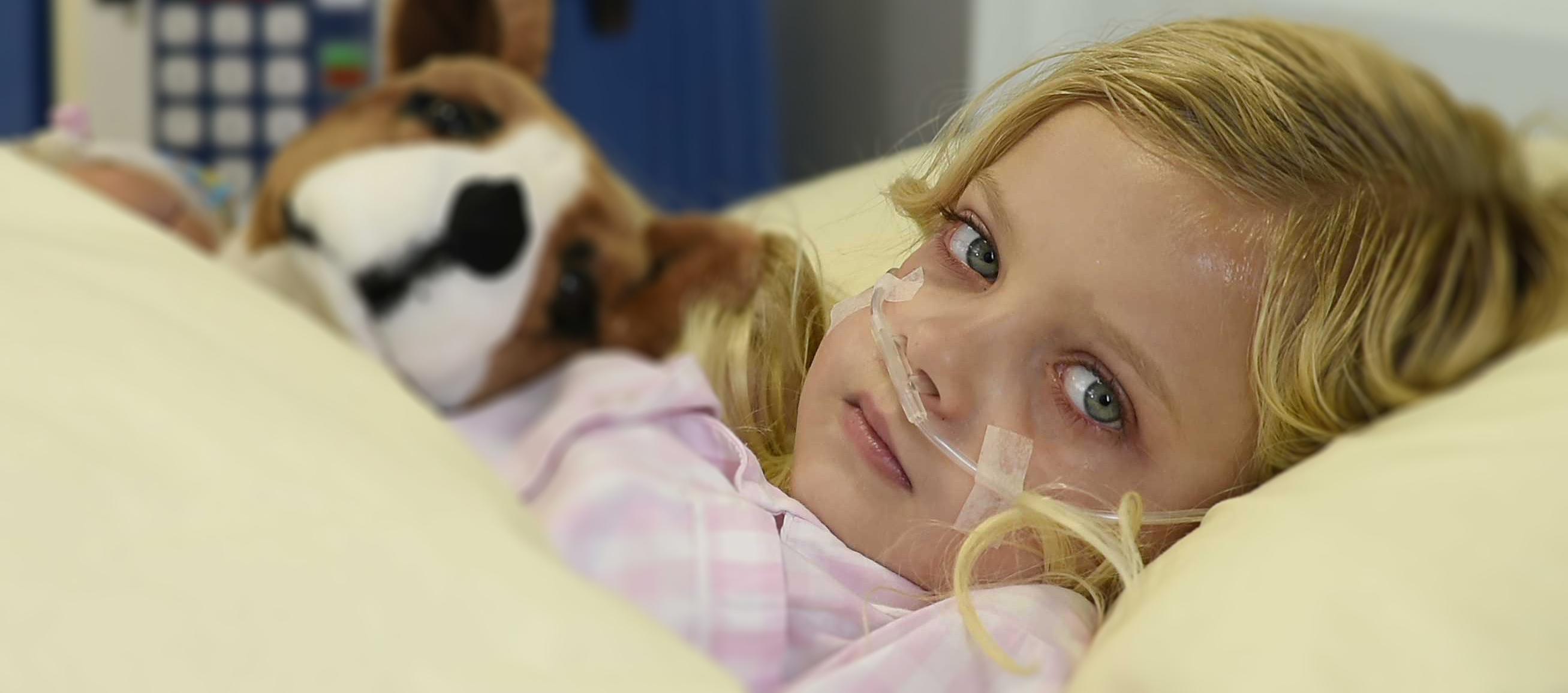 Für ein krankes Kind wie Hannah zählt jeder Augenblick! Bitte spenden Sie!
